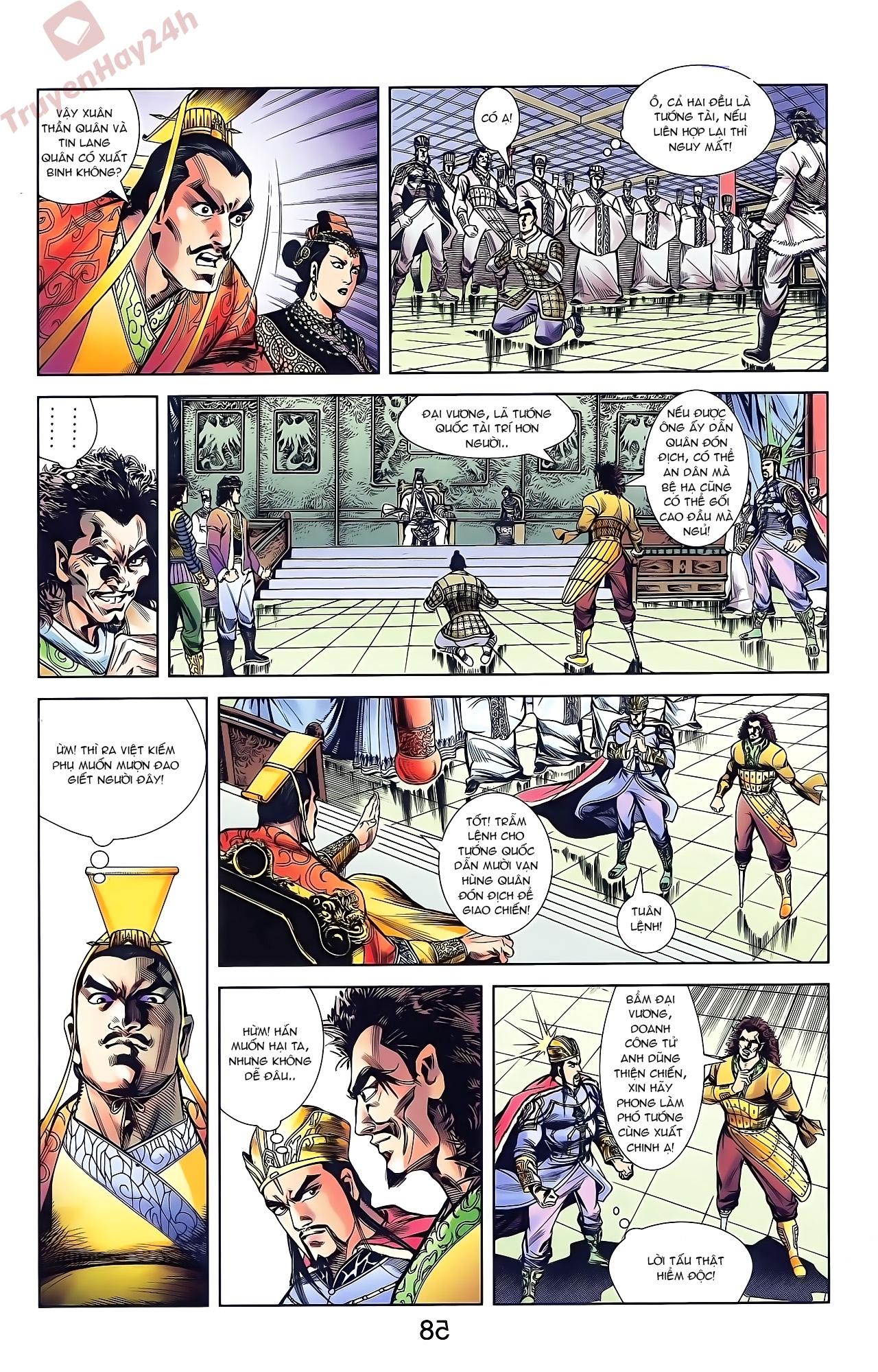 Tần Vương Doanh Chính chapter 44 trang 10