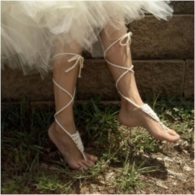 ayakları süsleme