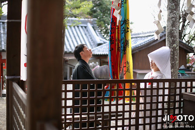 奈良での前撮りロケーション撮影