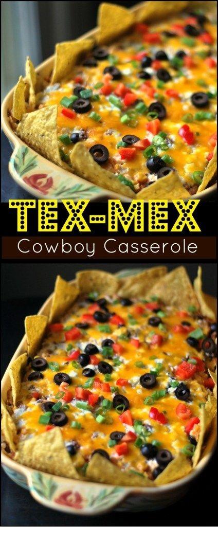 Tex-Mex 'Cowboy' Casserole