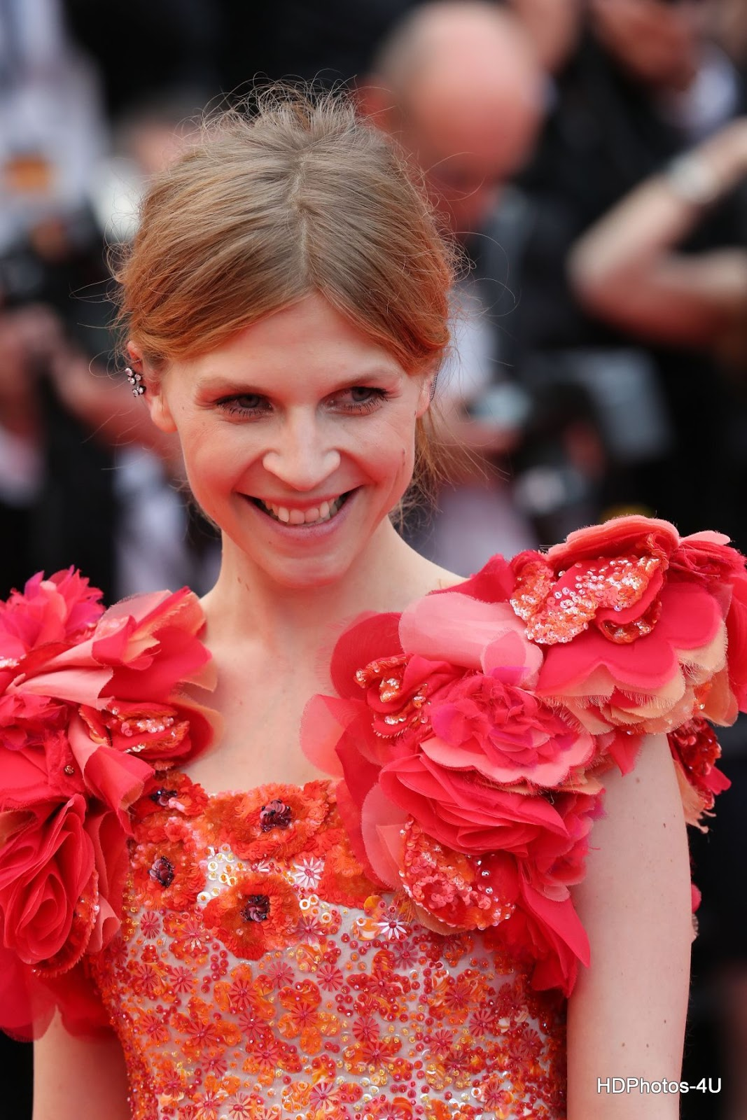 HQ Photos of '7 Minutes' actress Clemence Poesy At 69th Annual Cannes Film Festival Closing Ceremony