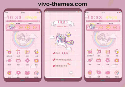 Unicorn Company Theme For Vivo Android Smartphone