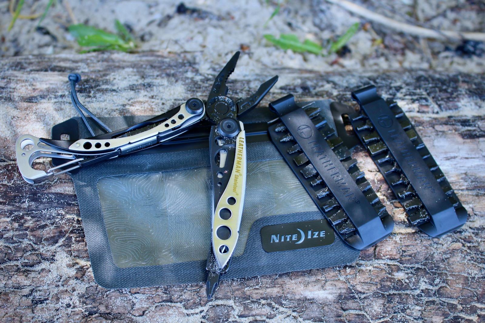 Leatherman Skeletool Multi-Tool Pliers and Bit Kit