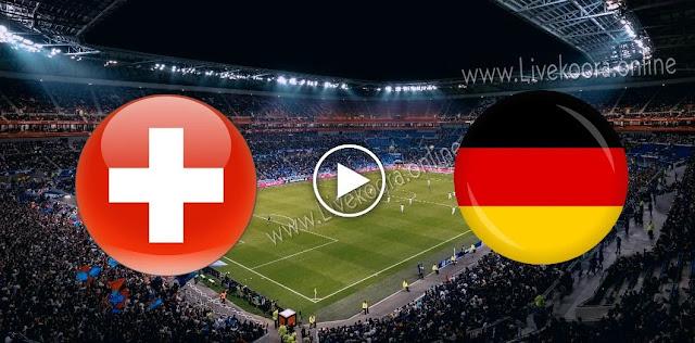 موعد مباراة سويسرا وألمانيا بث مباشر بتاريخ 06-09-2020 دوري الأمم الأوروبية