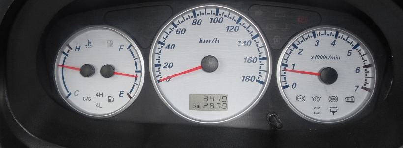 Temperature Gauge Reads Hot During Traffic