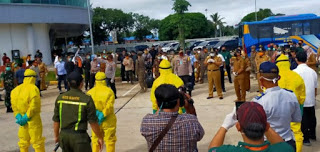 Tangani Covid 19, Ketua DPRD Lampung dan Gubernur Tinjau Pelabuhan Bakauheni