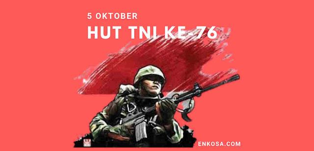 Sejarah Hari Tentara Nasional Indonesia (TNI) 5 Oktober