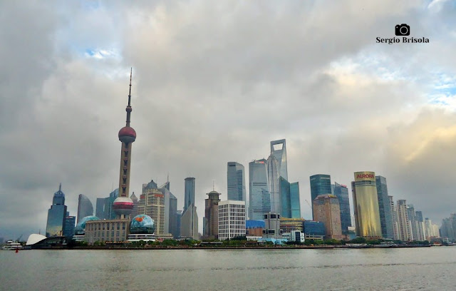 Lujiazui Financial Center - Pudong (landscape) - Shanghai
