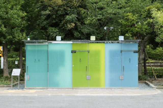 transparent toilets japan