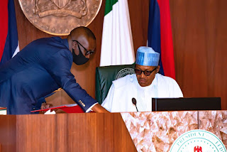 Insecurity: ''Your excuses will no longer be tolerated'' President Buhari tells Service Chiefs