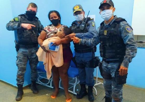 Policiais Militares do Maranhão salvam criança de afogamento