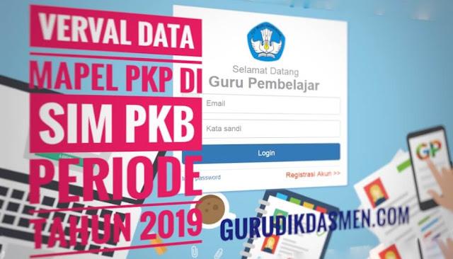 Verval Data Mapel PKP di Sim PKB