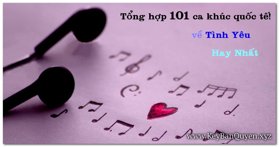 Tổng hợp 101 bài hát nước ngoài về tình yêu hay nhất [5CD]  [MP3-320Kbps]