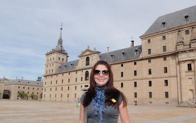 España, turístico, monasterio, San Lorenzo El Escorial