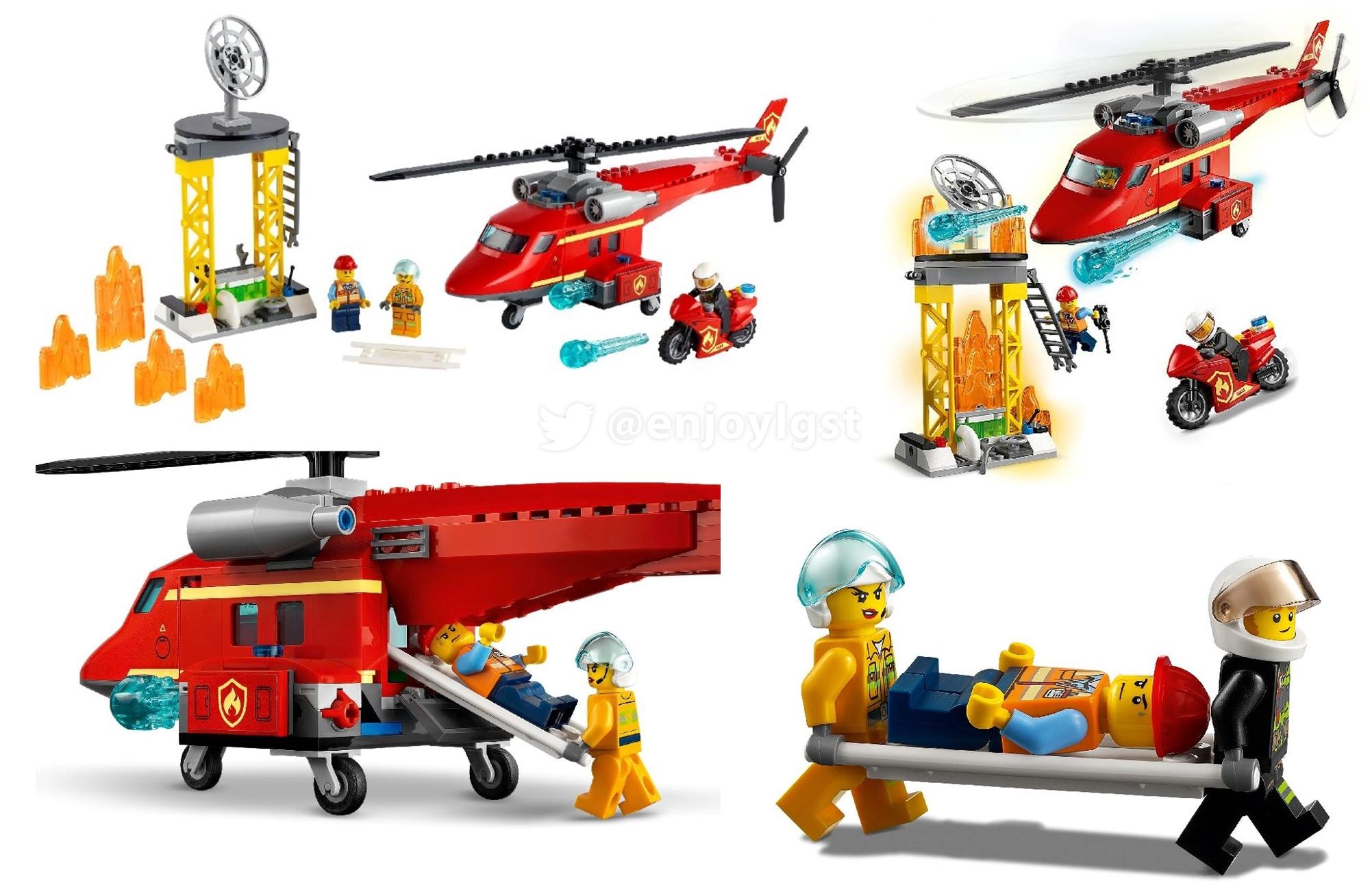 2021年レゴシティ新製品第1弾情報!みんな大好きレゴ定番シリーズ!男子も女子も皆遊ぼう!