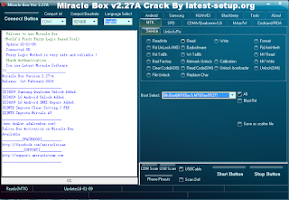 Download: Miracle Box Latest V2.27A Crack Without Loader