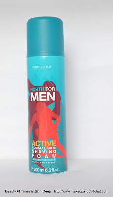 Oriflame North for Men Shaving Foam