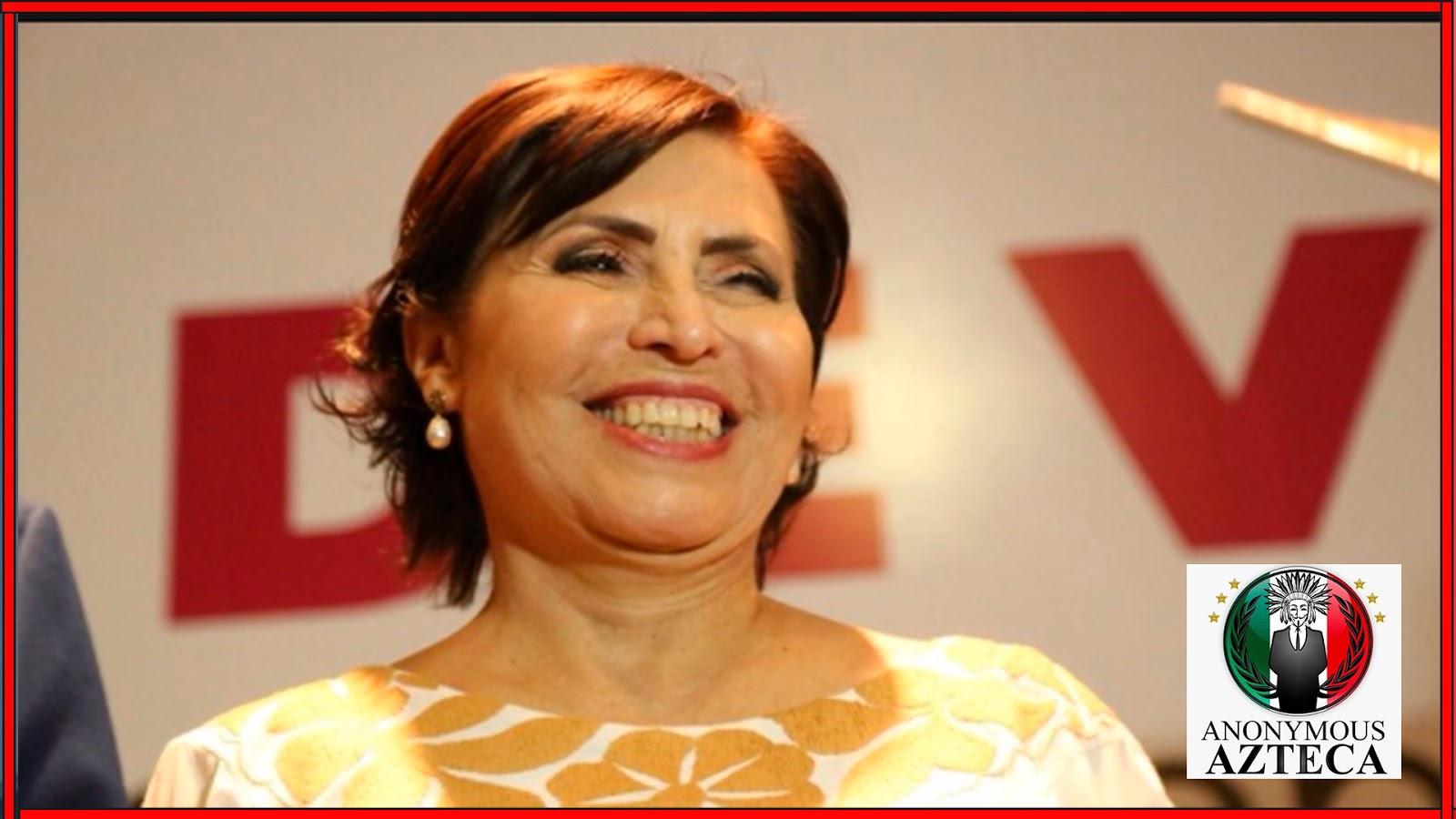 Rosario Robles se ampara para evitar ser detenida por actos de corrupción.