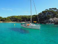 vacaciones velero menorca