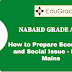 How to Prepare Economics and Social Issue for NABARD Grade A