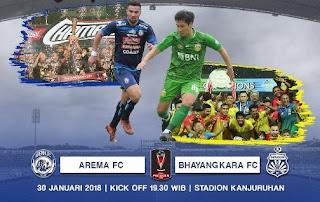 Arema FC Terancam Bernasib Sama dengan Persib Bandung di Piala Presiden 2018