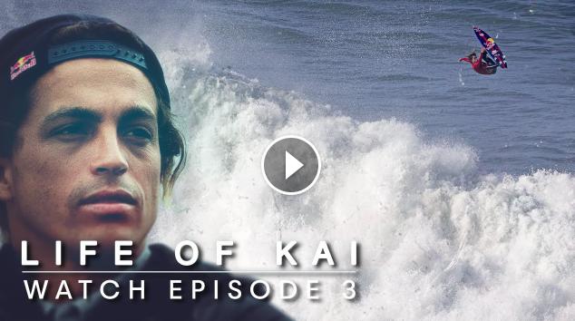 Kai Takes His Foil Out In The Gigantic Peaks Of Nazaré Life Of Kai Ep3
