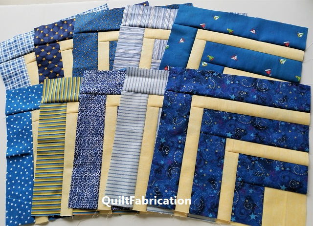 5th Grade quilt blocks from the Precut Primer book