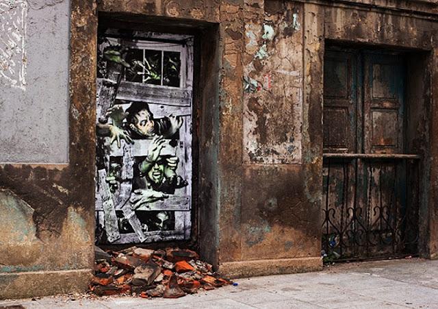 Уличные художники Andrea Michaelsson и Ilya Meyer 14