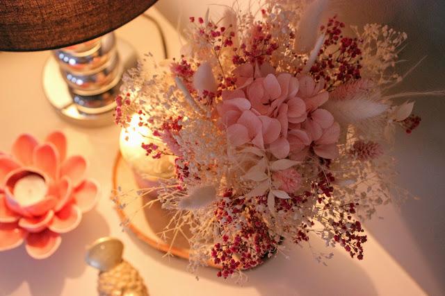 fleurs séchées, bouquet fleurs, flowrette, les petites bulles de ma vie