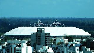 Estádio de Futebol de La Plata - Vista da Torre da Catedral