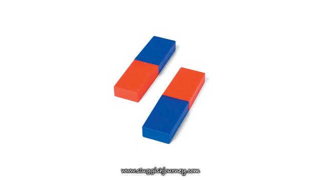 A pair of bar magnet