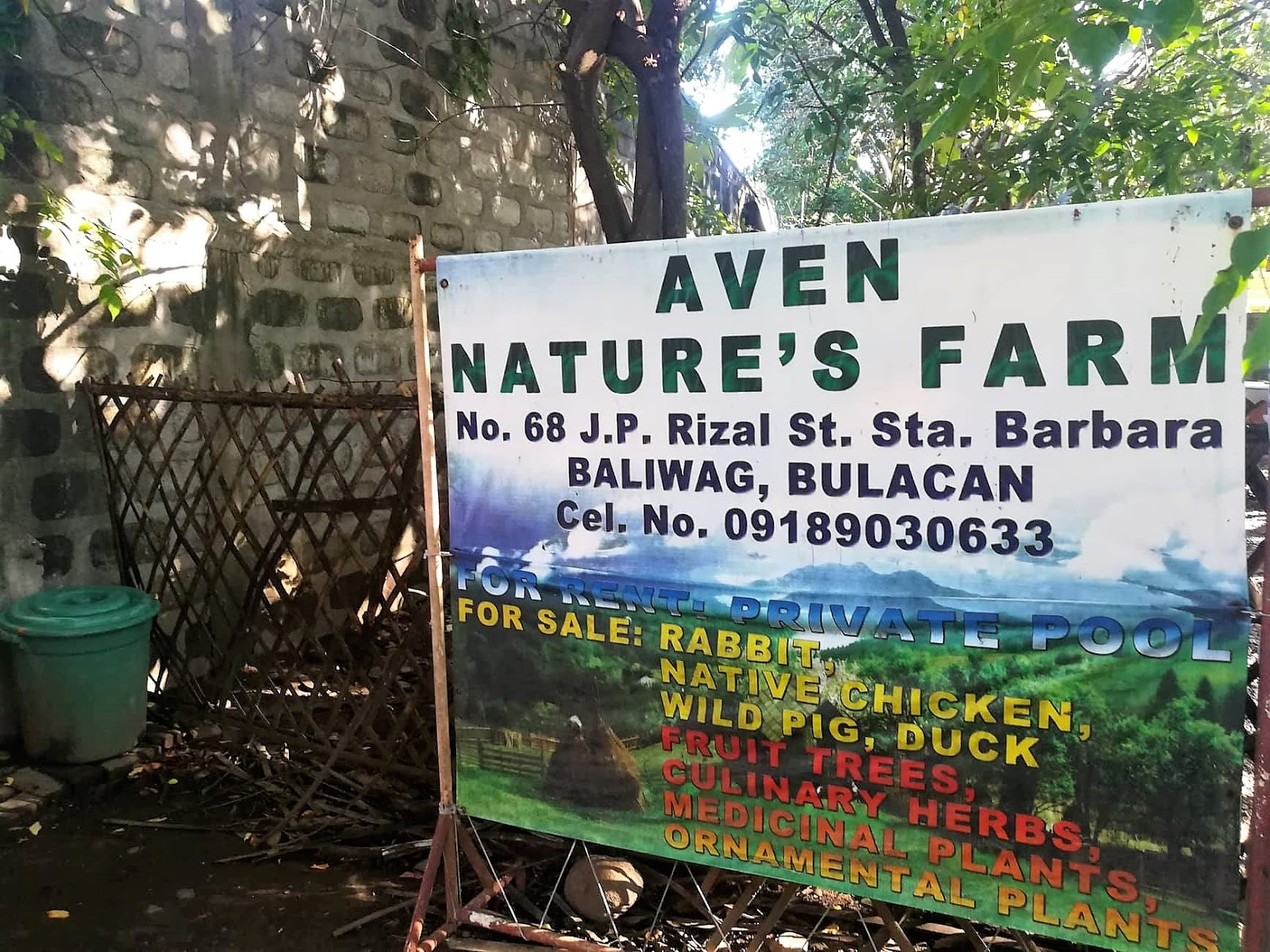 A Quick Visit at Aven Nature's Farm and The Greenery