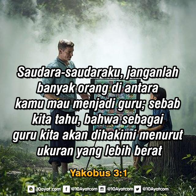 Yakobus 3:1