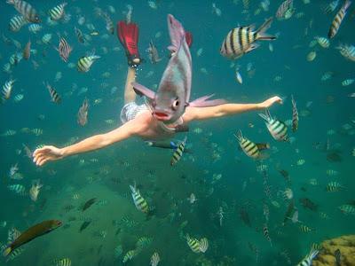 El hombre pez es real.