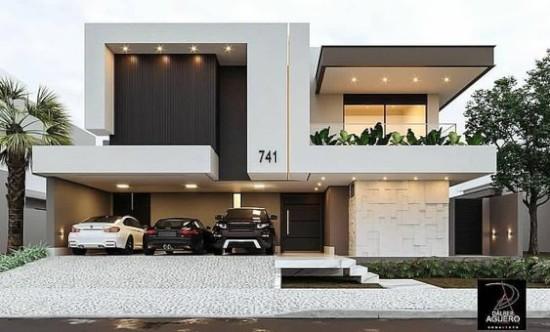 Model rumah minimalis 2 lantai dengan atap rata