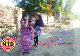 Sumbawa Diguncang Gempa 4.7 SR, Lombok Kena Goyangannya