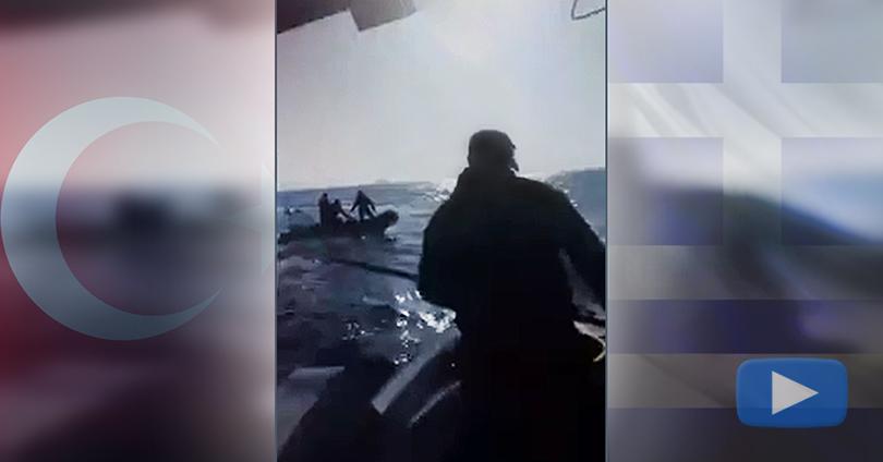 Τούρκοι Σήκωσαν Όπλο σε Έλληνες Ψαράδες στα Ίμια (Video)
