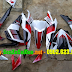 Sơn tem đấu xe Honda Wave RSX màu trắng đỏ đen