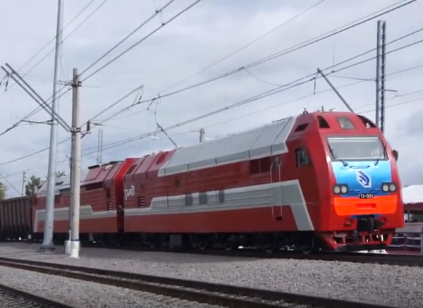 """Най мощният локомотив в света е руският газотурбовоз """"ГТ1-001"""" (ВИДЕО)"""