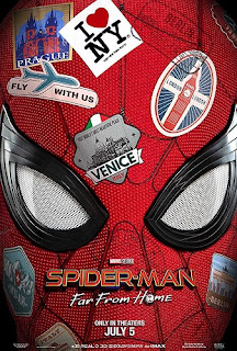 spiderman far from home first look poster wallpaper screensaver image picture