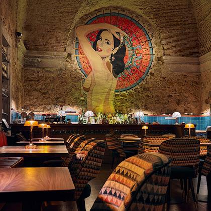 No Mini Bar a Cultura serve-se ao jantar.