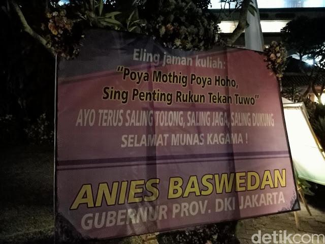 Anies Baswedan Bilang 'Poya Mothig Poya Haha', Bahasa Apa Itu?