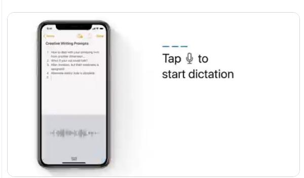 تطبيق Notes من شركة أبل لتسجيل خطابك وتحويله إلى نص