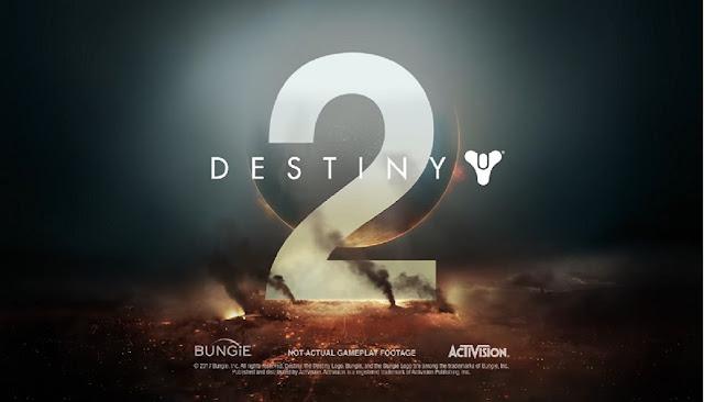 شاهد العرض الرسمي الأول للعبة Destiny 2 و تحديد موعد إصدارها