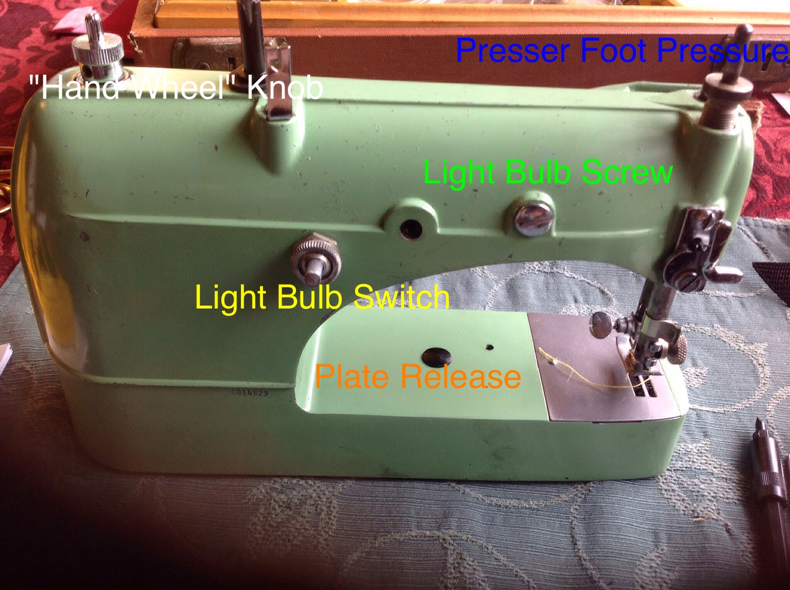 Manual sewing machine - a little helper