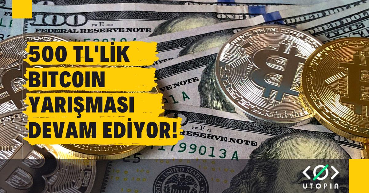 bitcoin yarışma