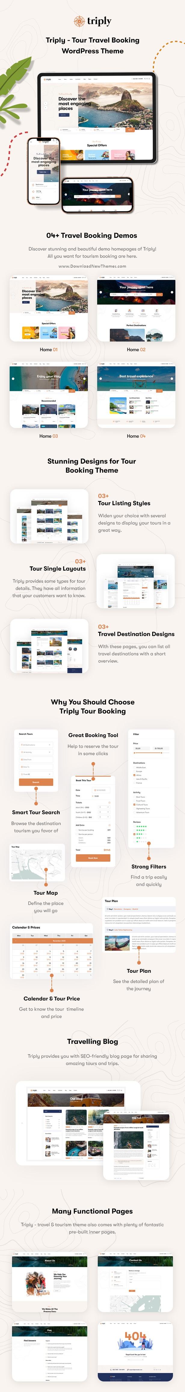 Tour Booking WordPress Theme