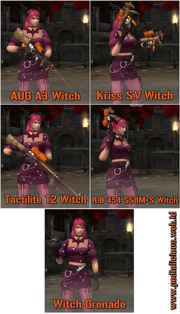 Harga & Statistik Seri Witch Non-Rules Senjata Point Blank Zepetto