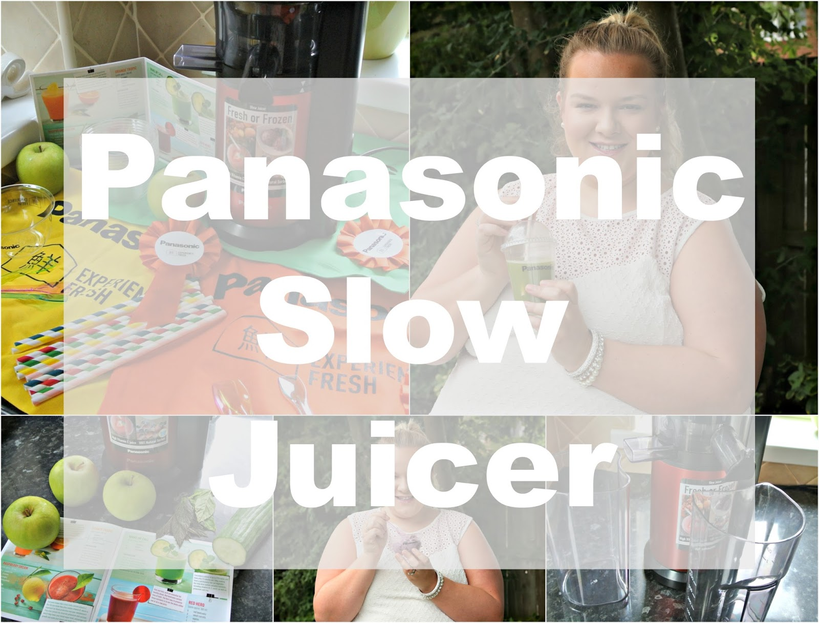 Panasonic Slow Juicer MJ-L500 Review Juicing Healthy Frozen Dessert Amazon