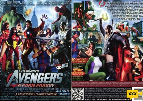 [18+] Avengers XXX Porn Parody (2012) HD 795MB